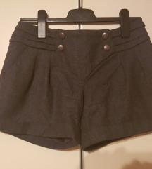 Promod sive kratke zimske hlače