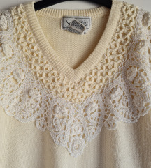 Vintage izvezeni pulover