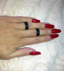 Crni choker prsteni