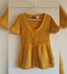 Moderni pulover boje senfa