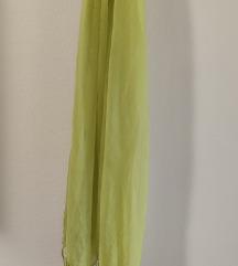 Šal marama, neon zeleno/ TOTALNA RASPRODAJA
