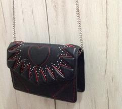 Zara crveno crna torba - snižena
