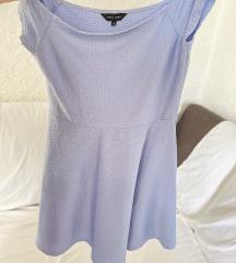 New Look plava haljina uk 12 M L