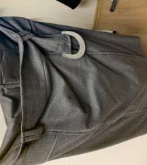 Benetton siva suknja