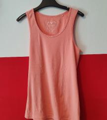 Roza majica bez rukava