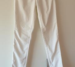 Uske benetton bijele hlače