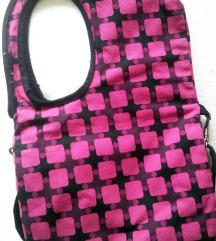Roza torba retro dizajna