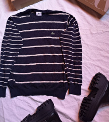pulover vesta Lacoste na prugice