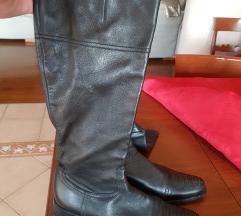 Crne visoke čizme, PRAVA KOŽA!