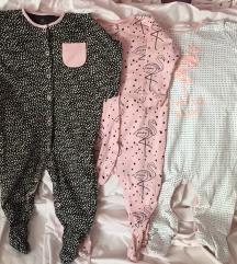 Jednodijelne pidžamice 9-12 mjeseci