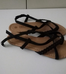 Flat Sandale Japanke 38