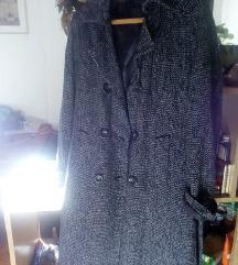 Crno-ljubičasti XL kaput