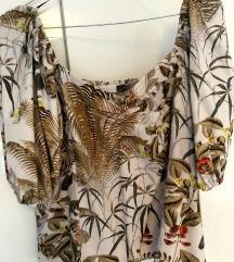 H&M laneni top / bluza