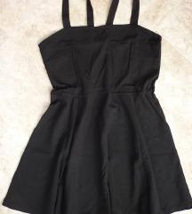 H&M crna haljina, L