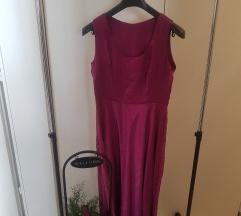 Ciklama haljina šivana po mjeri
