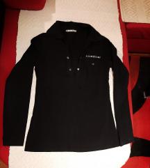 Crna majica sa čipkom