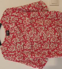 Košulja crveno-bijela - S