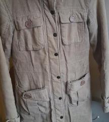🖤 Duga krem jakna/kaput S/36