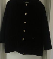 Vintage smeđa samtasta jakna 44-46