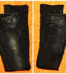 Hilfiger - dark blue flared denim - nove - 38