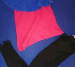 Majica zara i bershka hlače