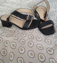 Asos crne sandale- novo!