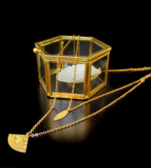 Mjedena ogrlica LAYLA
