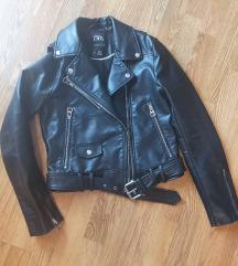 Nova ZARA kožna jaknica!