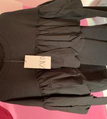 Zara majica oversized