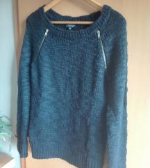 Crni džemper, patent