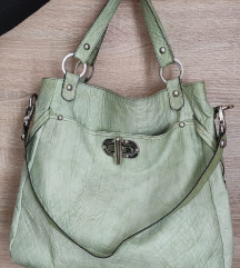 Guliver zelena kozna torba pt ukljucena