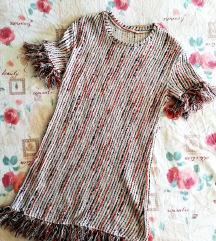 2+1 GRATIS  Nova Zara multicolor haljina, vel. M