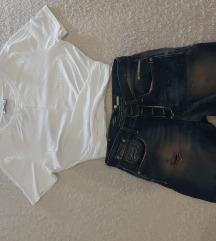 Replay traper bermude, vel. 25, Zara majica,M