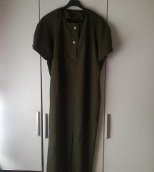 Trendy maslinasto zelena haljina