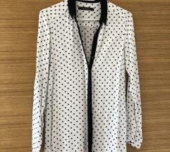 Reserved bijela košulja s točkicama
