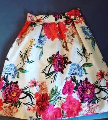 Cvjetna balon suknja