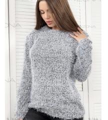 Čupavi svjetlucav pulover Orsay 38