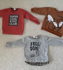Lot majice za bebe, 3 kom