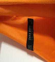 Zara narančasta haljina