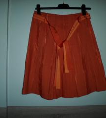 MANGO narančasta suknja vel.38
