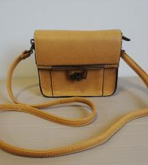 Žuta crossbody torbica