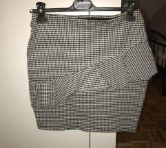 Pepita mini suknja