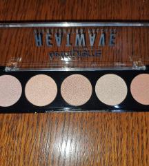 Bellapierre Heatwave highlightng palette