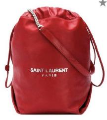 SAINT LAURENT Teddy bucket torba/Original
