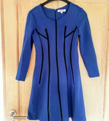 Morgan de toi kraljevsko plava haljina