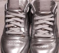 Reebok kožne srebrne tenisice