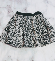 Zimska pletena suknja s/m