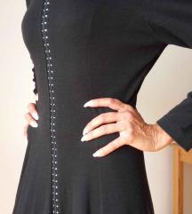dugačka, crna haljina