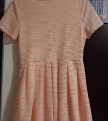 Haljina, peach boja