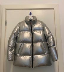 Tommy Icons srebrna zimska jakna